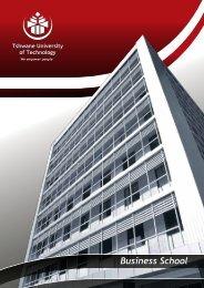 Business School Brochure.pdf - Tshwane University of Technology