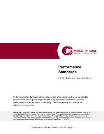 Family Focused Solution Based - Community Care Behavioral Health