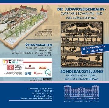 SONDERAUSSTELLUNG - Schloss Burgfarrnbach