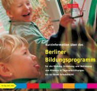Berliner Bildungsprogramm - House of Nations