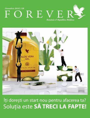 Octombrie 2010 - Forever Living Products