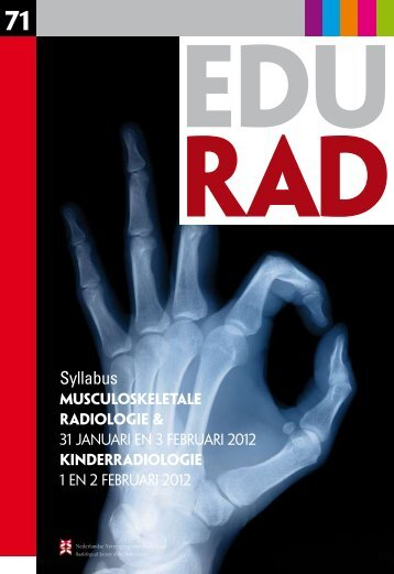 eduRAD 71 - Nederlandse Vereniging voor Radiologie