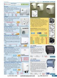 Restroom Supplies - Central Restaurant Products