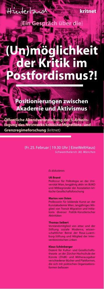 kritik.im.postfordismus - Netzwerk Kritische Migrations- und ...