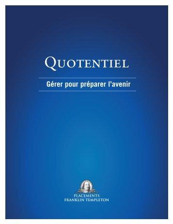 Brochure Quotentiel - Franklin Templeton Investments