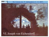 Mondnacht - Literaturwissenschaft-online