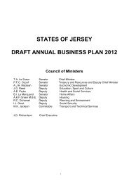 Draft Annual Business Plan 2012 - States Assembly