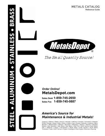 2005 MetalsDepot Catalog - CIM