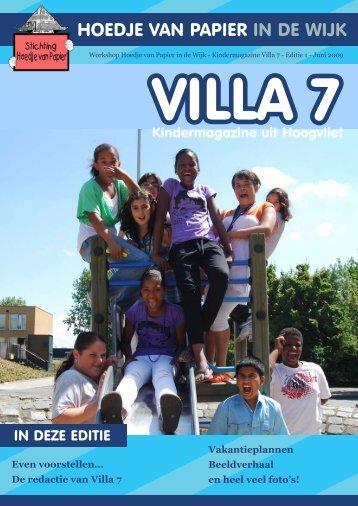 Even voorstellen... De redactie van Villa 7 ... - Wijktijgers