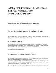 Acta 390 16 de Julio 2007 - CBI - UAM