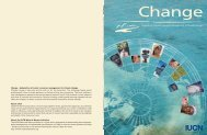 Adaptation of water resources management to climate change