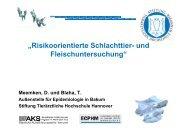 Risikoorientierte Schlachttier- und Fleischuntersuchung - DLR Eifel