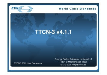 The new TTCN-3 version 4.1.1