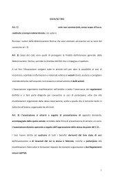 Statuto tipo e domanda - Automotoclub Storico Italiano