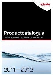 Product catalogus - Vileda Professional