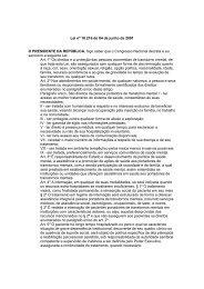 Lei nº 10.216 de 04 de junho de 2001 O PRESIDENTE DA ...