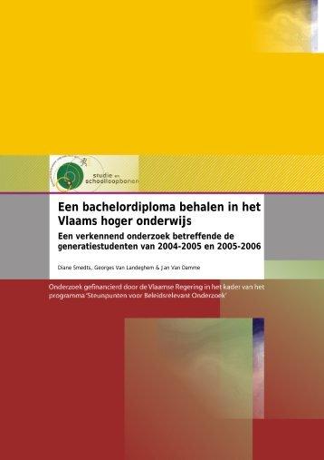 Een bachelordiploma behalen in het Vlaams hoger onderwijs