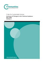 Summary of Changes to Technical Guidance (May ... - Planning Portal