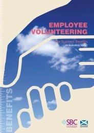 Employee Volunteering - Scottish Business in the Community