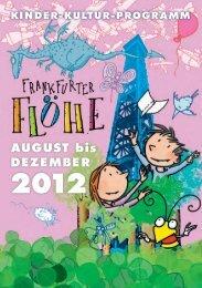 fahrplan 2012 - Kinderkultur Frankfurt