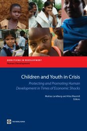 Protecting and Promoting Human Development in Times of ...