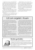 KYRKJEBLAD - Kirkene i Nord-Fron - Page 7