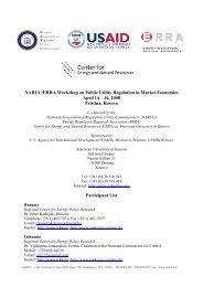 Energy Sector Regulation Participants (pdf)