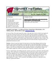 Vegetable Crop Update - Integrated Pest and Crop Management ...