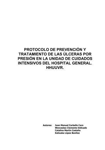 PROTOCOLO DE PREVENCIÓN Y TRATAMIENTO DE ... - Úlceras.net