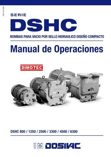 Manual de Operaciones - Dimotec