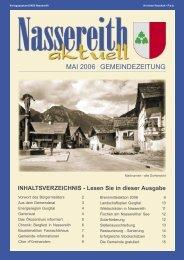 Gemeindezeitung Nassereith Aktuell (0 bytes) - Gemeinde Nassereith