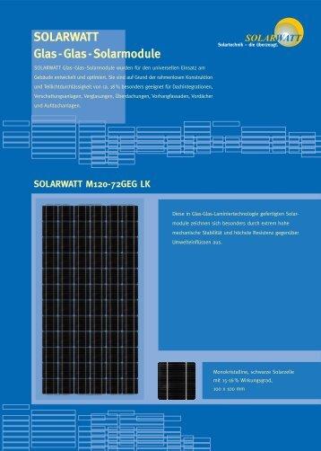SOLARWATT M120-72 GEG LK, deutsch