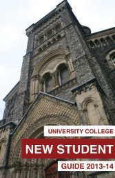 2013-14 University College New Student Guide