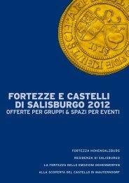 FORTEZZE E CASTELLI DI SALISBURGO 2012