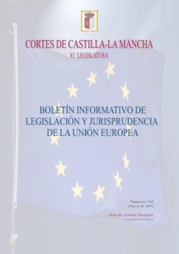 Número: 142 Área de Asuntos Europeos