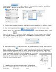 iPhoto Basics 1. Taking picture files already on the computer 2 ... - Page 2