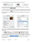 iPhoto Basics 1. Taking picture files already on the computer 2 ... - Page 4