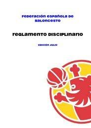 Reglamento Disciplinario 2008 - Club del Entrenador