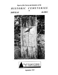 HISTORIC CEMETERIES - The City and Borough of Juneau