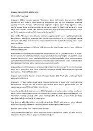 Anayasa Mahkemesi'nin iptal kararları 17.11.2009 ... - Denetimnet.Net