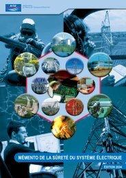 Mémento de la Sûreté du Système Électrique Édition 2004 - RTE