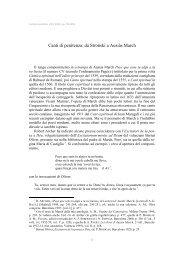 Canti di penitenza _CN_ - Dipartimento di Filologia Moderna