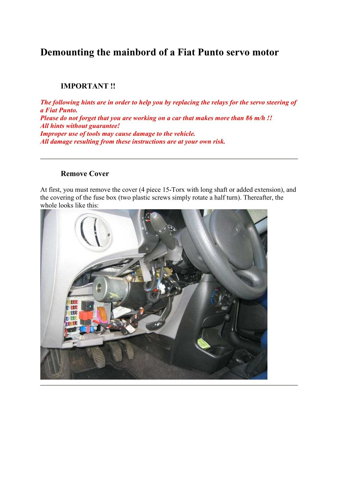40 Free Magazines From Darisusde Fuse Box In Fiat Punto