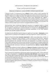 Coord. Giuseppina Clini - USP di Piacenza