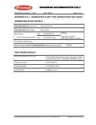 Generating Plant Type Verification Sheet for Fronius IG ... - IBC Solar