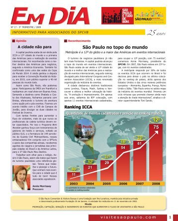 Edição N° 17 - São Paulo Convention & Visitors Bureau