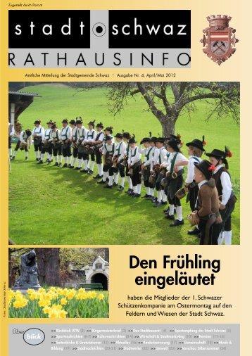 PDF Rathausinfo Nr. 4/2012 - Schwaz