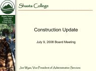 July 9, 2008 - Shasta College