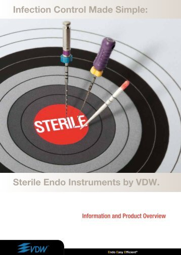 Sterile Endo Instruments - Vdw-dental.com