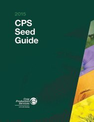 Proven Seed Guide